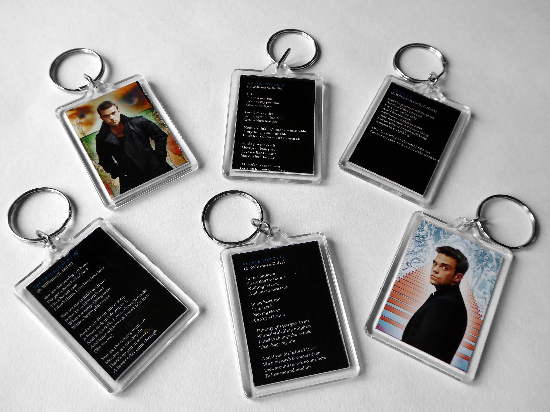 Take That Keyring Bag Tag *Great Gift* Robbie Williams