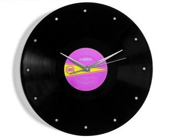 "DeBarge ""Rhythm Of The Night"" Vinyl Record Wall Clock"