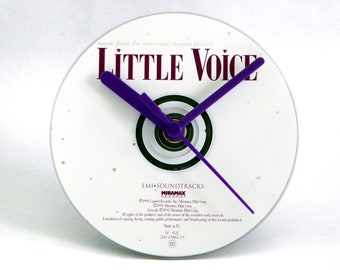 Little Voice Movie Soundtrack CD Clock and Keyring