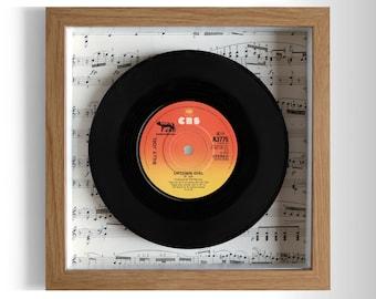 "Billy Joel ""Uptown Girl"" Framed 7"" Vinyl Record"