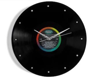 "Nat King Cole ""Those Lazy-Hazy-Crazy Days Of Summer"" Vinyl Record Wall Clock"