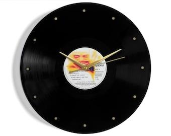 Peter Gabriel Vinyl Record Wall Clock