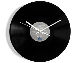 """M People """"How Can I Love You More?"""" Vinyl Record Wall Clock"""