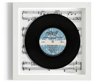 "Tottenham Hotspurs FA Cup Final 81/82 Season ""Tottenham Tottenham"" Framed 7"" Vinyl Record"