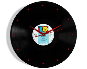 """The Flying Pickets """"Only You"""" Vinyl Record Wall Clock"""