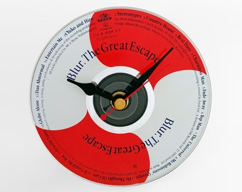 """Blur """"The Great Escape"""" CD Clock and Keyring Gift Set"""