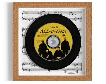 "All-4-One ""I Swear"" Framed CD"