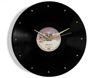 "Kiss ""Rocket Ride"" Vinyl Record Wall Clock"