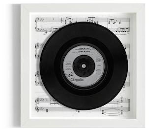 "Living In A Box Framed 7"" Vinyl Record"