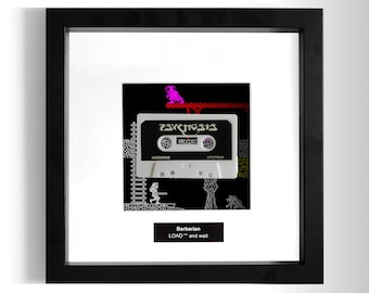 Barbarian Framed ZX Spectrum Game