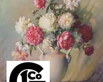 """GP3797 """"Blooming beauties"""" Carle J blenner"""