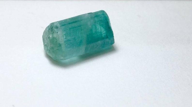 Paraiba Color Tourmaline Crystal