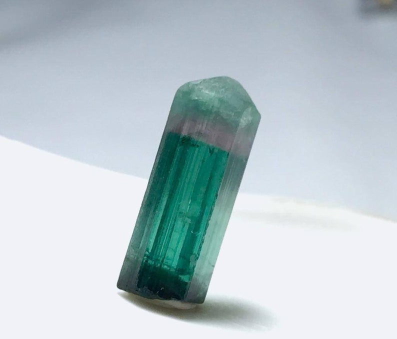 Tri Colour Tourmailine Crystal