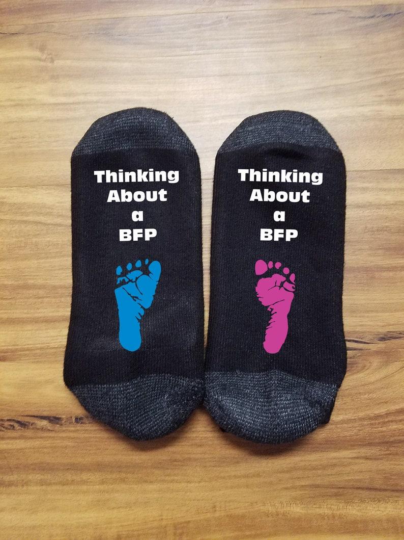Fertility Gifts iui Pregnancy iui baby IVF Socks In Vitro Fertility Socks IVF Socks Men Infertility IVF Socks for Women iui
