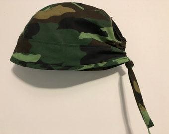 Men's Scrub Cap Camouflage