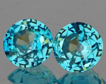 Aqua Chalcedony Mint Seafoam Blue Green Round Cabochon 4mm Gemstone Supplies GN24