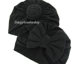 Knotted soft turban hat 130dea52c4e