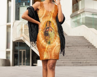 Oshun Dress  | Oshun | Orisha Oshun | Goddess Oshun | Dress | Goddess | Womens Clothing | Gifts for Her | Self Gift | Birthday Gifts