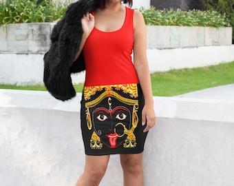 Kali Ma Dress | Kali Ma | Hindu Goddess| Women Clothing | Dress  | Goddess | Self Gift | Gifts for Her  | Goddess | Goddess Dress