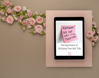 The Importance of Watching Your Self Talk | Self Care | Self Care Kit | Self Care Journal | Self Care Box | Self Care Planner | Inspiration