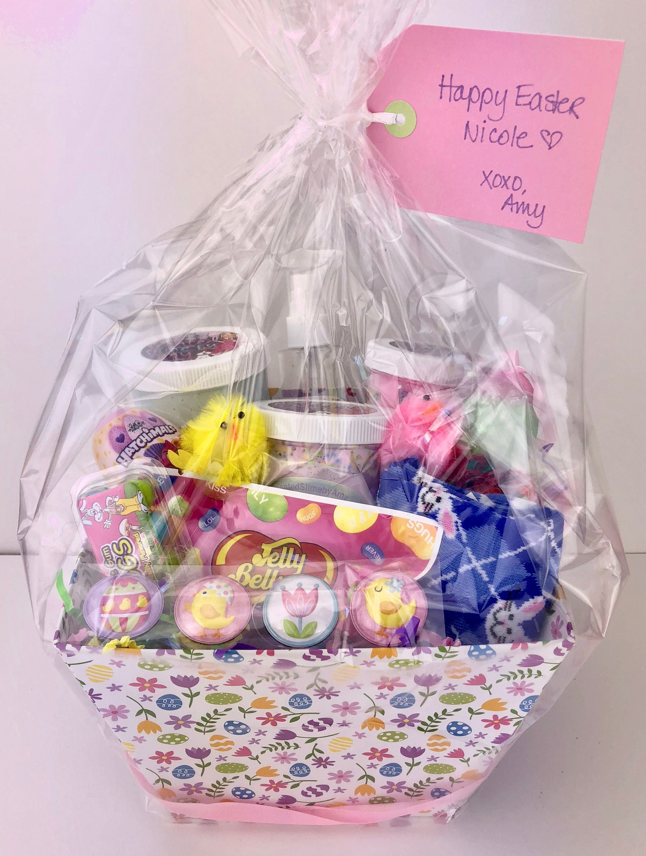 Easter basket us only from scentedslimebyamy on etsy studio negle Choice Image