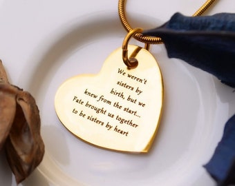 Personalized Handwriting Necklace Actual Handwriting Heart Necklace Gift for Her Gift for Mom