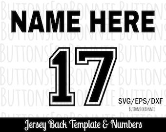 Football jersey svg  070c2b053