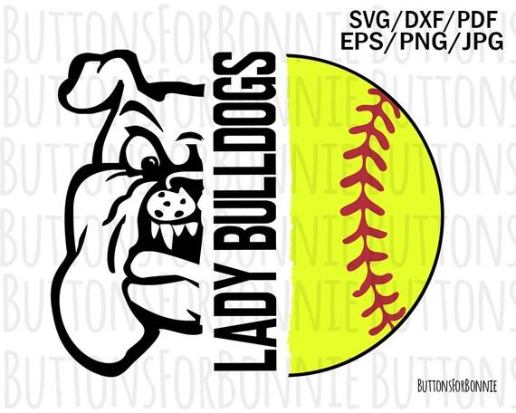 softball svg team shirt shirt design iron on Lady mustangs cut file lady mustangs svg softball mom svg school spirit sport svg