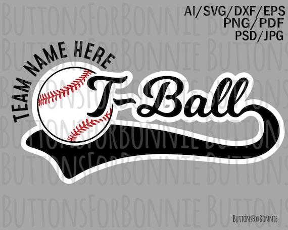Tball team svg t ball svg tball shirt tball shirt design   Etsy