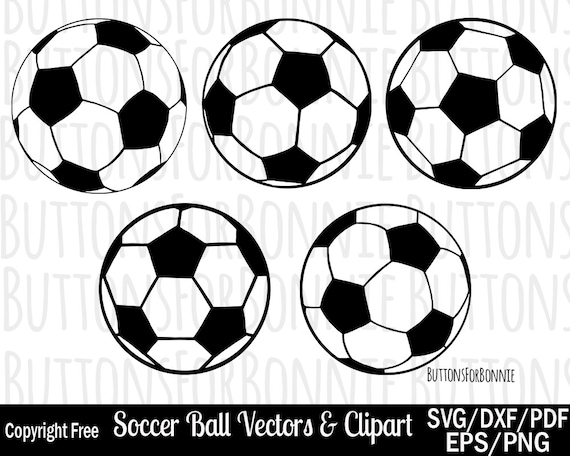 Soccer Ball Svg Soccer Ball Clipart Soccer Ball Vector Eps