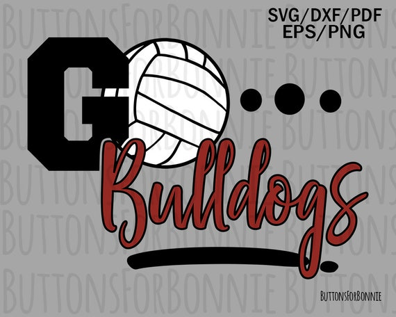 It/'s in my DNA Print Dad Volleyball svg Volleyball Mom Cut Files T-shirt Bulldogs Volleyball Bulldogs svg Sister svg Download