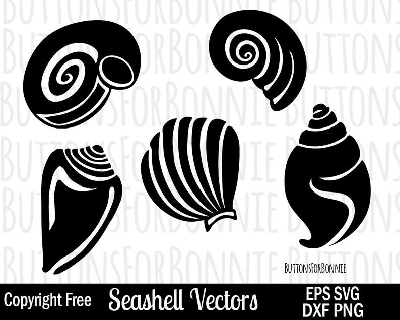 93b09ffe9108 Seashell SVG ocean svg summer svg beach svg seashell