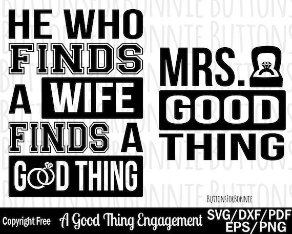 A Good Thing Svg Wedding Ring Svg Ring Svg Wedding Svg Etsy