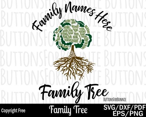 Family Reunion Svg Family Tree Svg Tree Svg Roots Svg Etsy