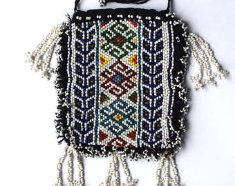 Vintage,Middle east,Beadwork Purse,boho purse,boho bag,travel,money,festival,boho chic,hippie,beadwork,jewellery,gypsy purse,festival bag