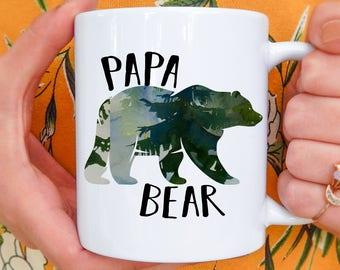 Papa Bear | Father's Day Mug, Dad Gifts, Papa Bear Mug, Papa Bear Mugs, Papa Bear Gift, New Dad Mug, Dad Mug, Father Mug, Mugs for Dad,