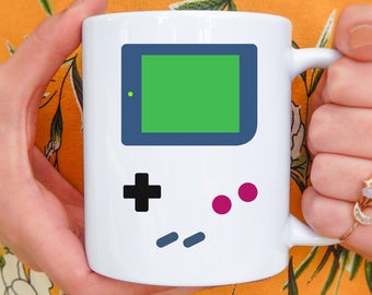 Gamer Mug | Video Gamer Mug, Gaming Mug, Gamer Gifts, Gamer, Gaming, Geeky, Retro Mug, Retro Gift, Retro Game, Christmas Gift for Boyfriend