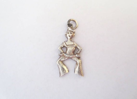 Sailor Sterling Silver Charm Pendant Jolly Jack Ta