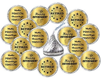 """30 OFFICIALLY RETIRED ENVELOPE SEALS LABELS STICKERS PARTY FAVORS 1.5/"""" ROUND"""