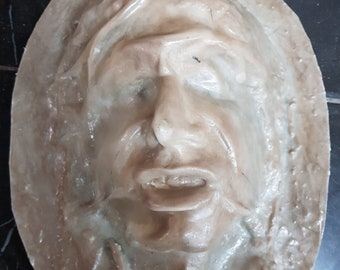 Han solo in carbonite face only