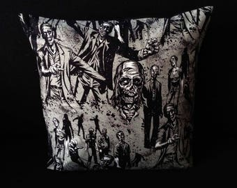 SALE! The Walking Dead Zombie Apocalypse Walkers Horror Comic Halloween Gothic handmade home decor cushion pillow **SALE**