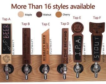 Custom Beer Tap Handles, Engraved Custom beer tap handle, Custom beer tap, Chalkboard tap handle, Wood tap handle, Bar tap