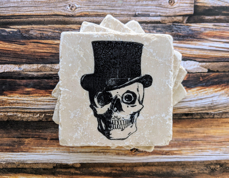 Skull Coasters Skeleton
