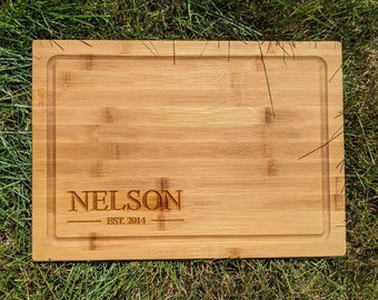 Wood Cutting Board, Personalized Cutting Board, Custom Cutting Board, Kitchen Gift, Housewarming Gift, Gift for Her, Gift for Him, Holidays