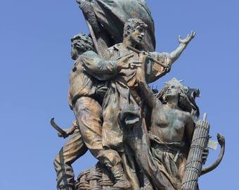 Italian Solider Statue - Rome