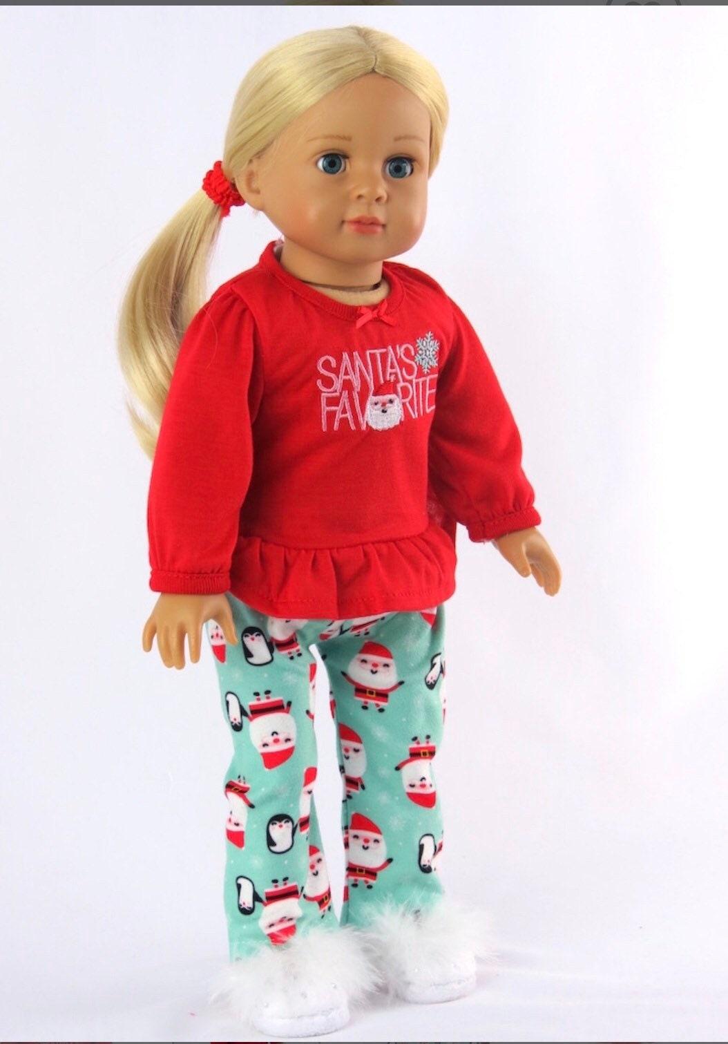 USA Gymnastics Leotard /& Flag Set Fits 14.5 Wellie Wishers American Girl Clothes
