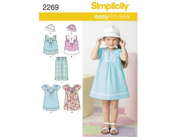 Simplicity 2269 - Child's Easy-to-Sew Dresses