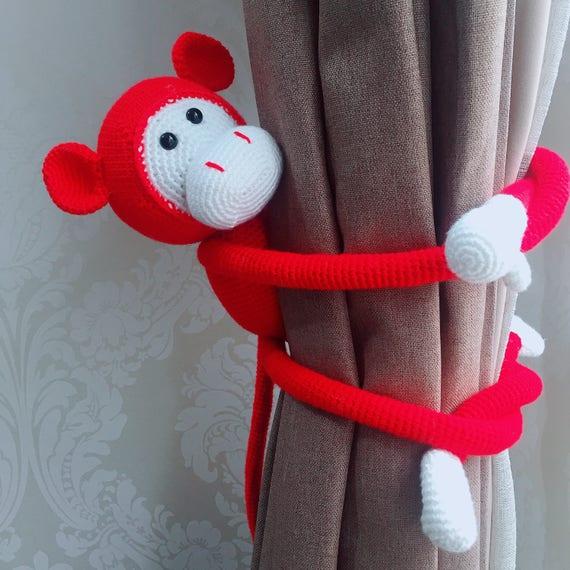 Monkey Crochet Pattern Long Arm Monkey Amigurumi Pattern Etsy