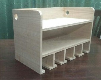 Cordless Drill storage, Organizer and Charging Station Five (5) Slot