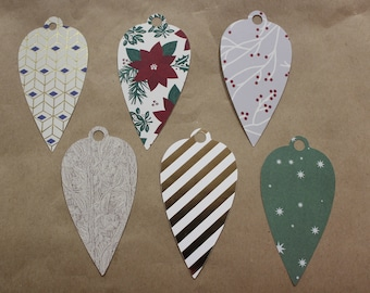 Ornament Gift tag